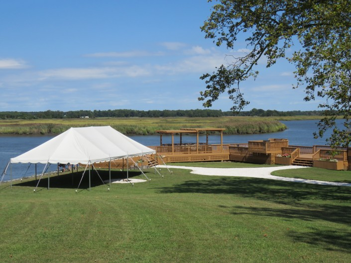 Waterfront Tent