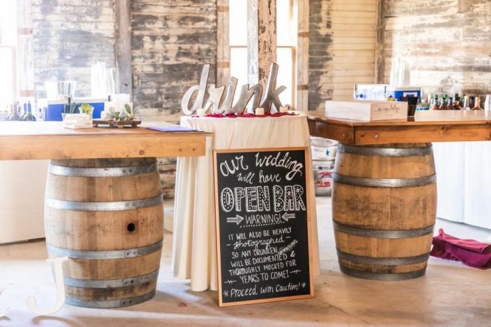 Rustic Barn Bar